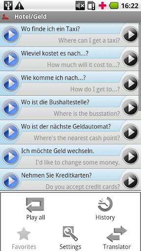 iSayHello English USA - German