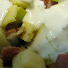 Salad ABC - Apples, Bacon, Cumin Cheese