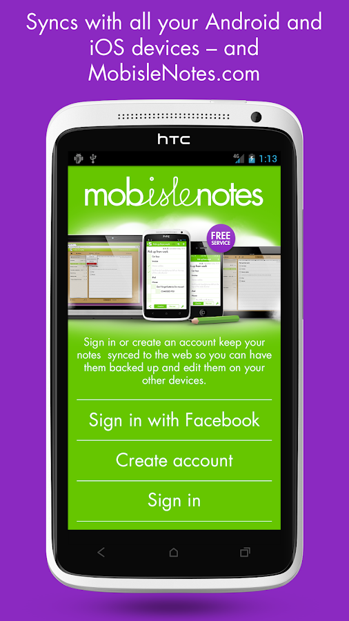 MobisleNotes - Notepad Screenshot 10