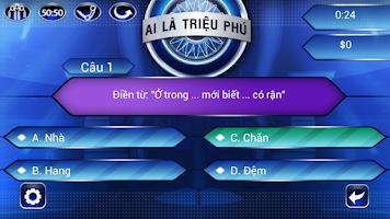 Screenshot of Ai La Trieu Phu 2014 HOT