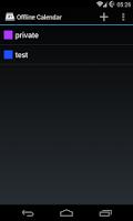 Screenshot of Offline Calendar