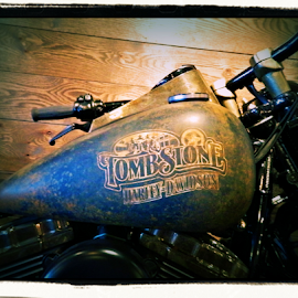 Tombstone by Becky McGuire - Transportation Motorcycles ( havasu, harley, harley davidson, tombstone, mcguire, tvlgoddess, arizona, motorcycle, western, west, becky,  )