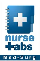 Screenshot of NurseTabs: Med/Surg