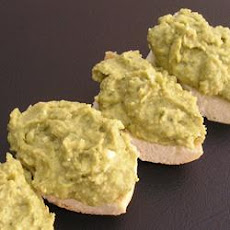 Basil and Pesto Hummus