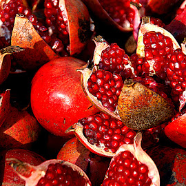 Red, Red, Red by Rakesh Syal - Food & Drink Fruits & Vegetables
