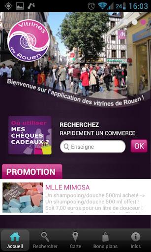 Vitrines de Rouen
