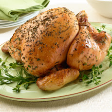 Oven-roasted Herbed Chicken