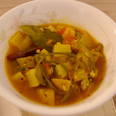 Curried Cream of Root Vegetable Soup
