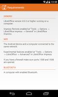 Screenshot of LibreOffice Impress Remote