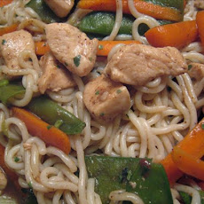 Five-Spice Chicken With Noodles