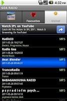 Screenshot of GOA RADIO