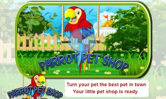 Screenshot of Parrot Pet Shop -Bird pet game