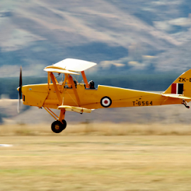 Touch Down by Winkie Chau - News & Events Entertainment ( blurred, plane, events, entertainment, airshow,  )