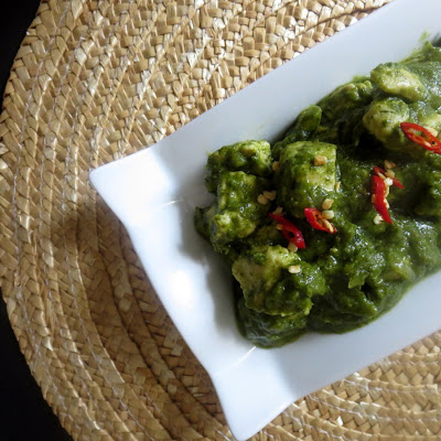 Haray Masalay ki Murghi – Chicken in a Spicy Cilantro Sauce