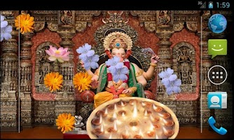 Screenshot of Ganpati Bappa Livewallpaper