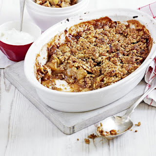 Oaty Nutty Apple Crumble