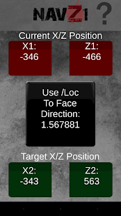 NavZ1 - H1Z1 Navigation Tool - screenshot
