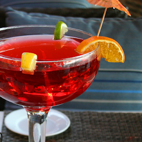 Cheers by Rita Colantonio - Food & Drink Alcohol & Drinks ( stemmed glass, red, martini, food & beverage, drink, alcoholic, eat & drink, meal )