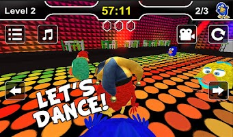 Screenshot of Party Birds: 3D Snake Game Fun