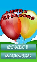 Screenshot of Angry Balloons