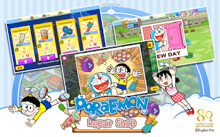 Screenshot of Doraemon Repair Shop