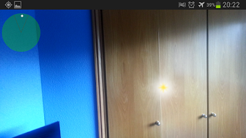 Screenshot of Camera Ghost Detector