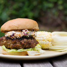 Meatloaf Burgers with Grilled Corn