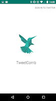 Screenshot of TweetComb for Twitter