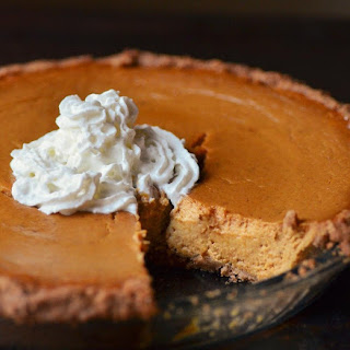 Ginger Pumpkin Pie With Graham Cracker Crust Recipes