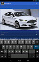 Screenshot of Car Quiz