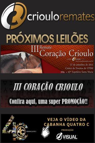 Crioulo Remates - Leilões