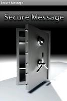 Screenshot of SecureMessage