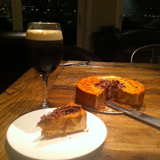 Chipotle Sweet Potato Cheesecake
