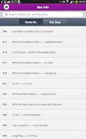 Screenshot of MTR Mobile