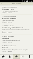 Screenshot of FanFiktion.de