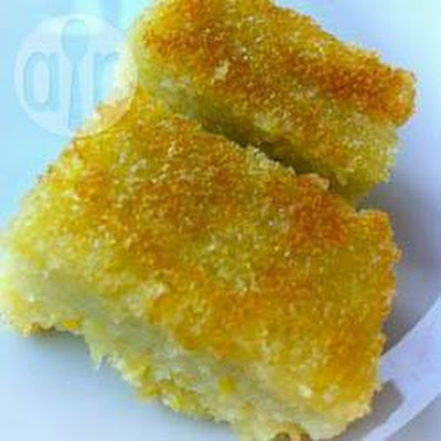 Brazilian Coconut Corn Cake