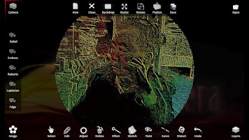 Screenshot of Art Camera