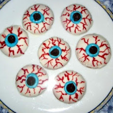 Eyeball Cookies Halloween