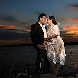 by Tjutjung Suprajitno - Wedding Bride & Groom