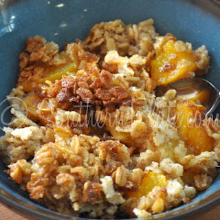 Baked Oatmeal With Peaches Recipes