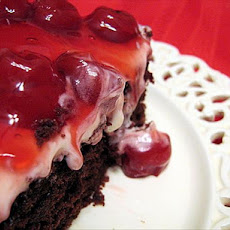 Double Chocolate Cherry Cake
