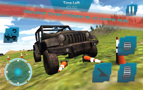 Extreme Offroad Jeep Simulator - screenshot