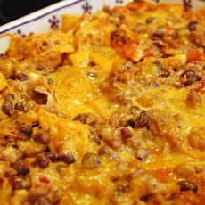 Beef and Black Bean Taco Bake
