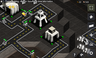 Screenshot of Robotic Planet RTS Lite