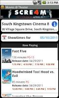 Screenshot of MovieTickets.com