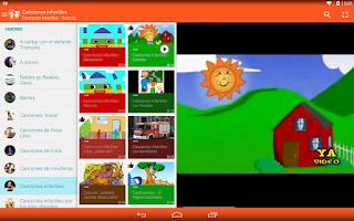Screenshot of Canciones para Niños
