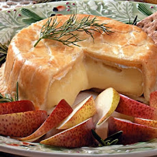 Baked Brie in Bread