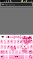 Screenshot of Diamonds Keyboard
