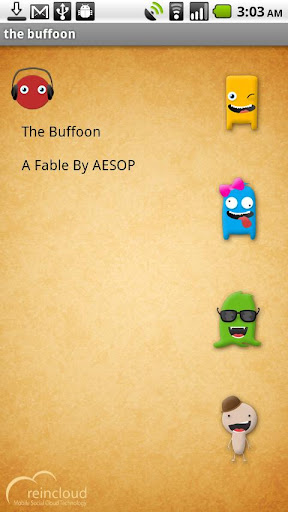 aesops fable the buffoon