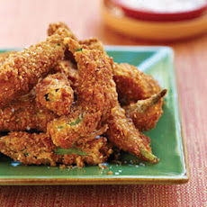 Fried Pecan Okra